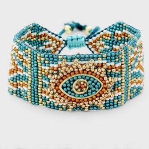 Jewelry - Handcrafted Seed Beaded Adjustable Bracelet